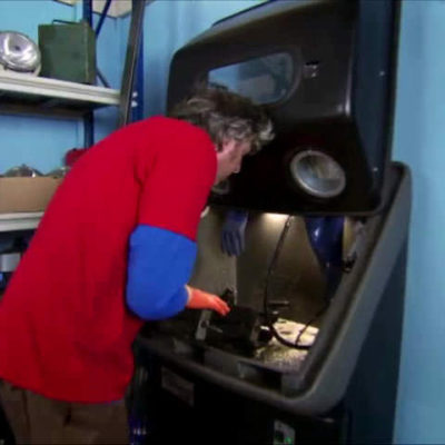 NCH Torrent 500 parts cleaner in Wheeler Dealers